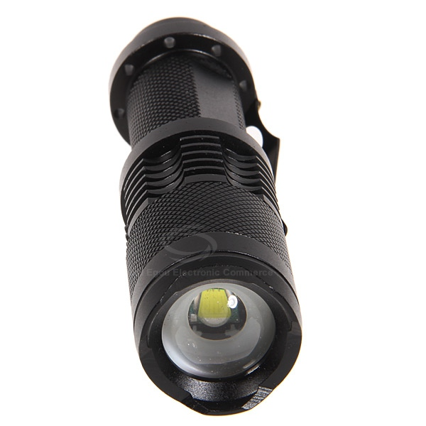 Cree XML T6 LED 10W 1000 Lumen 3-Modes Adjustable Flashlight (1 x 18650 Battery)