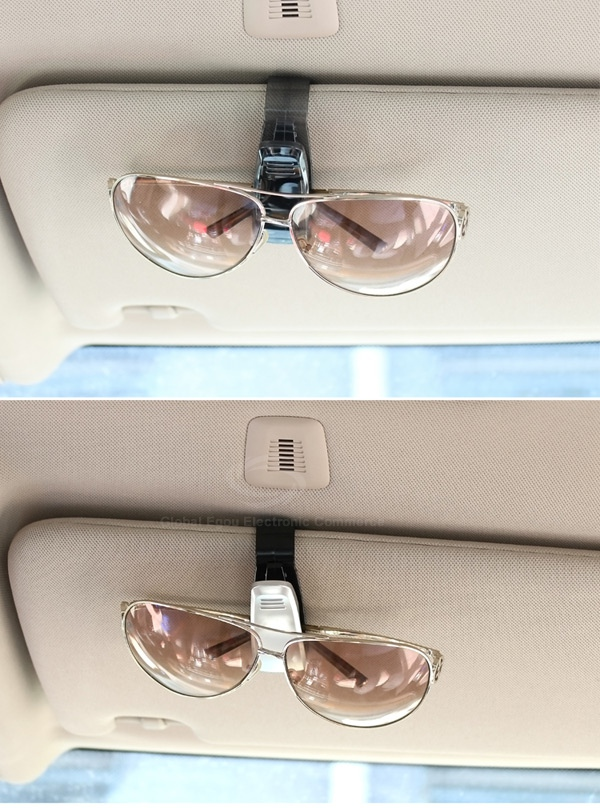 Car Vehicle Auto Visor Accessories Sunglasses Holder Card Pen Clip