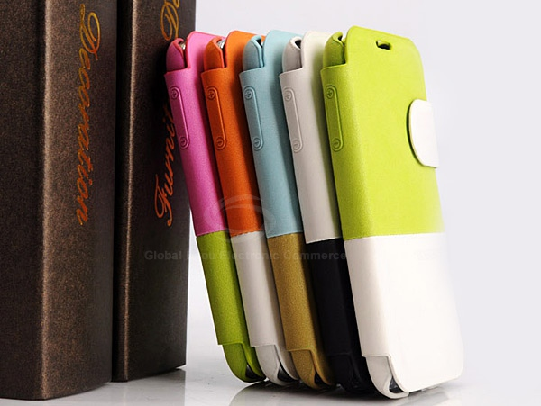 Baseus Fashion PU Leather Flip Wallet Stand Case for Samsung Galaxy S4 i9500 / i9505