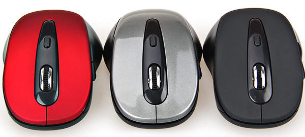 8500 Streamline Front Wheel Wireless Mouse with Bluetooth 3.0 Standard