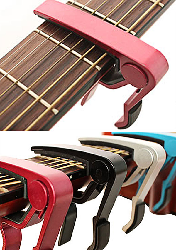 Musical Instrument Accessories Quick Change Clamp (Wine Red)