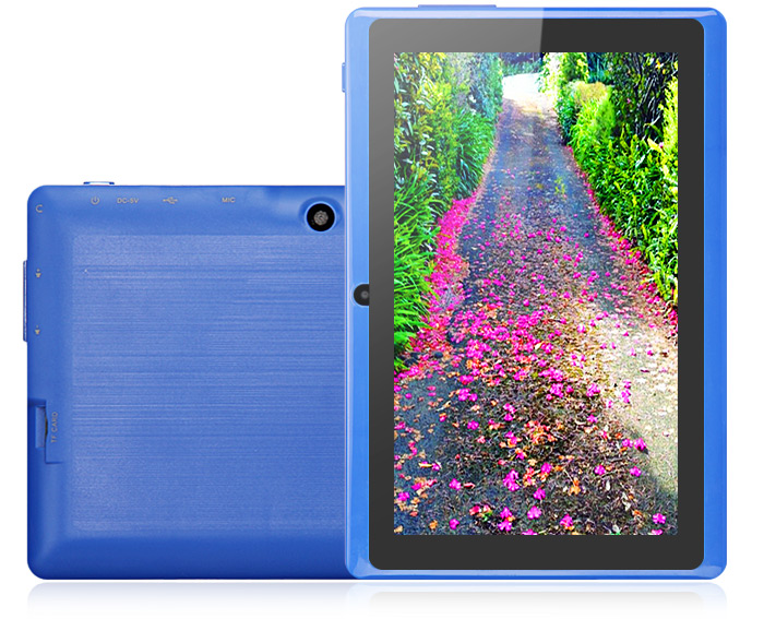 S7502 Android 4.1 Tablet PC with 7 inch WSVGA Screen RK2928 1GHz 4GB Dual Cameras Bluetooth