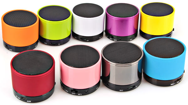 S10 Fashionable Mini Wireless Portable Bluetooth Speaker Support TF Card MP3 for iPhone 6S / 6S Plus / iPad Pro