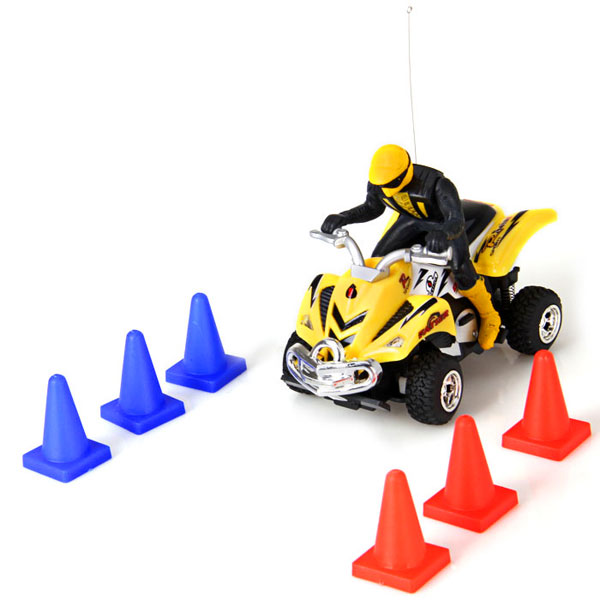 WLtoys 3030 Stick Stunt Biker Style Remote Control Electric Motorcycle Model Toy