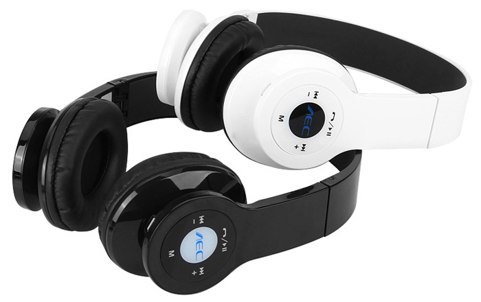BQ-605 Wireless HiFi Headphone Suspended Sound Effect Headset with FM Radio / Bluetooth / Microphone for Smartphone / Tablet / PC
