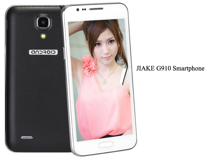JIAKE G910 Android 4.2 Phablet Unlocked Phone with 5.0 inch WVGA MTK6572 Dual Core 1.2GHz Dual Camera
