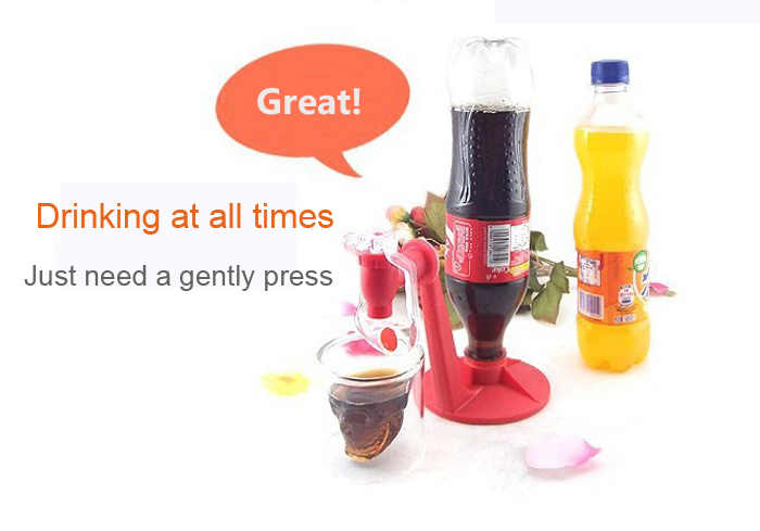 Novelty and Practical Household Fizz Saver Dispenser Switch Drinking Device