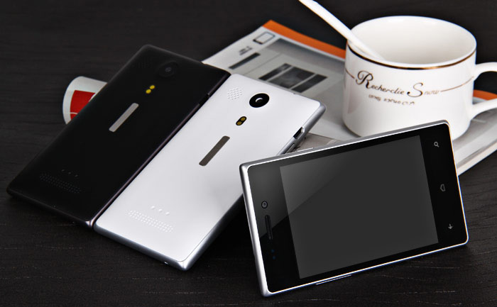 Android 4.2 Smartphone with 4.0 inch HVGA Screen SP8810 1.0GHz WIFI Dual Cameras