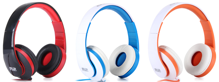 OVLENG A2 Professional Dynamic Stereo Headphone for Apple Wired Headset with Microphone for iPhone / iPod / iPad / PC