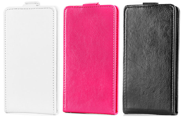New Design PU Leather and Plastic Wallet Case for Doogee DG500