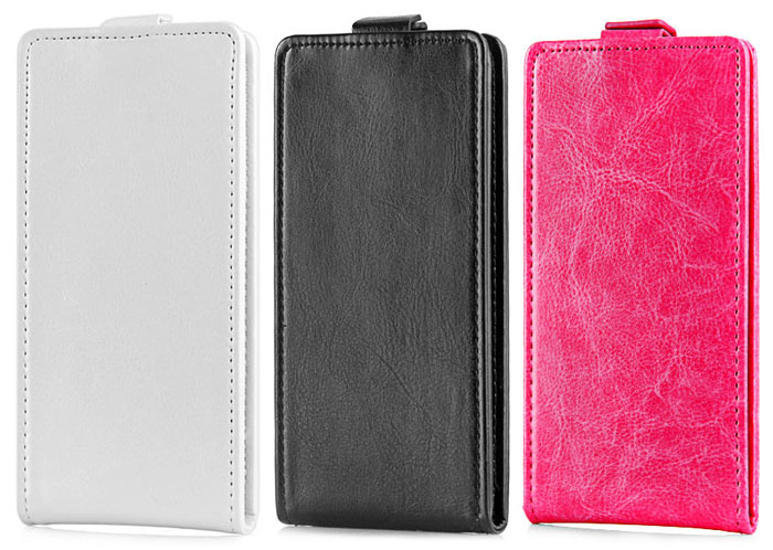 Fashion Design PU Leather and Plastic Wallet Case for THL 4400