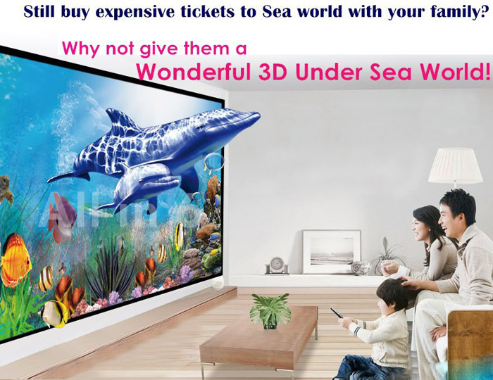 HTP LED-86+ 1280 x 800 Native Resolution 3600 Lumens Fashionable Exquisite Design LED Projector Support 1080P
