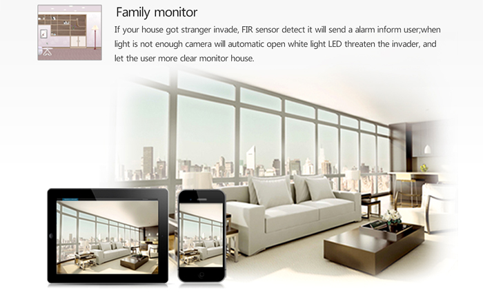 ESCAM Brick QD300 ONVIF Profile S Bullet IP Network Camera 720P HD Night Vision Multiple Network Monitoring Remote Control IP66 Waterproof for Indoor Outdoor