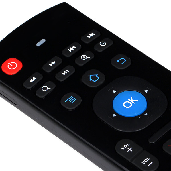 M3 2.4GHz 81 Keys Mini Wireless Air Mouse Remote Control Support Android Windows Mac OS Linux
