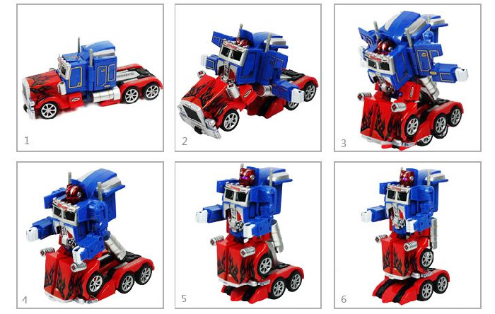 Fengyuan Radio Control Robot Transformers Optimus Prime Truck RC Toy 220-240V