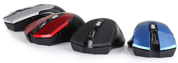 JITE 3239 Fashionable 6 Keys Wireless Bluetooth Optical Mouse for PC Laptop