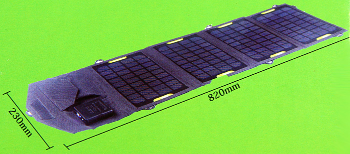 SUNWALK-140 14W Portable Solar Charger Pack Foldable Solar Panel for Laptops iPhone 6 / 6 Plus 4 4S 5 5S 5C iPad Samsung S4 i9500 i9505 Samsung Galaxy S5 i9600 Note 2 Note3 Nokia Sony HTC etc.