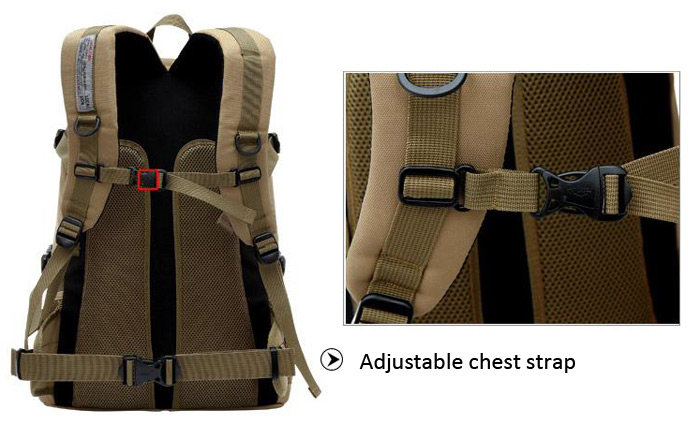 High Quality 40L Backpack Practical Travel Shoulder Bag Camping Cycling Hiking Accessories
