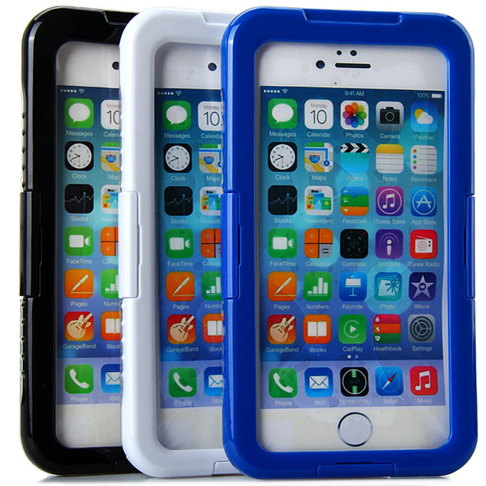Waterproof Full Body Case with Lanyard for iPhone 6 Plus - 5.5 inches