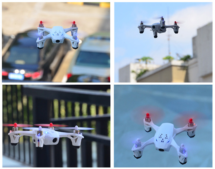 Hubsan X4 H107D Portable 5.8GHz 4CH 6-Axis Gyro FPV RC Quadcopter with 0.3MP HD Camera