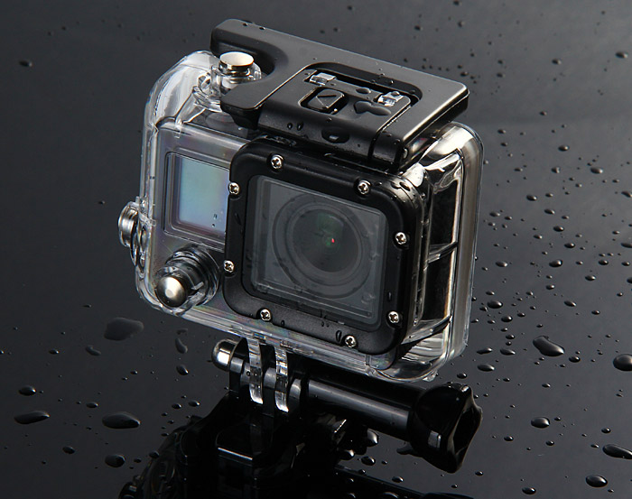 F42 WiFi Wireless Diving Bicycle Action Camera 170 Degree Wide Angle 1080P FHD 30M Waterproof Sports DV