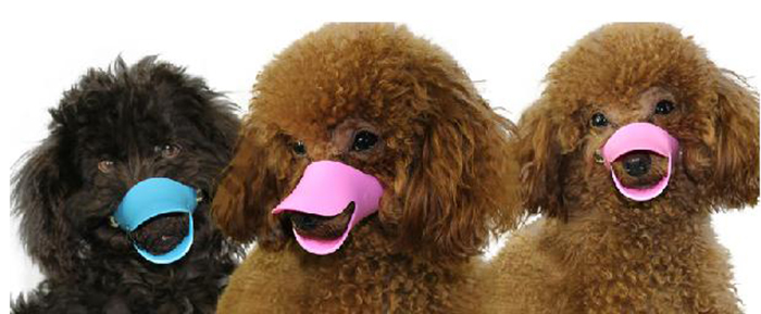 Adjustable Duckbill Dog Anti-biting Sleeve Pet Mask Plastic Muzzle