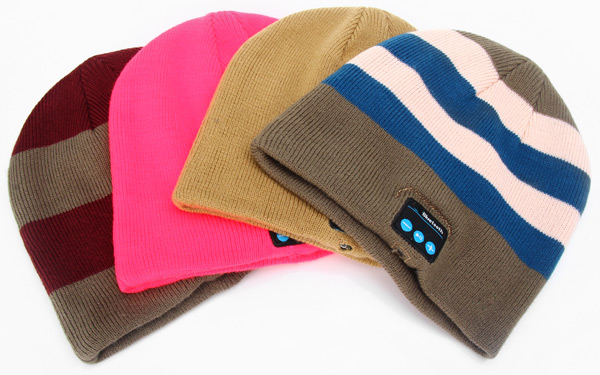 Novel Practical 2.4GHz Wireless Bluetooth Hat Knitted Winter Cap with Hands-free Calls for iPhone 6 6 Plus 5S 5C 5 4S 4