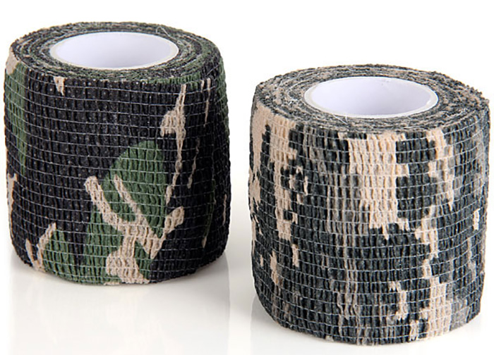 1PC Outdoor Nonwovens 4.5m Camouflage Stealth Tape Field Operations Necessary