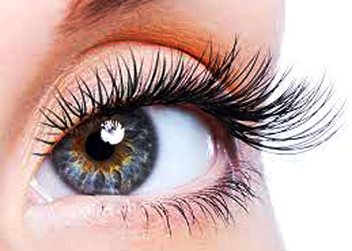 New Arrival Hand-made Super Exquisite 5 Pairs of Cross Fake Eyelashes for Ladies - Punk Style