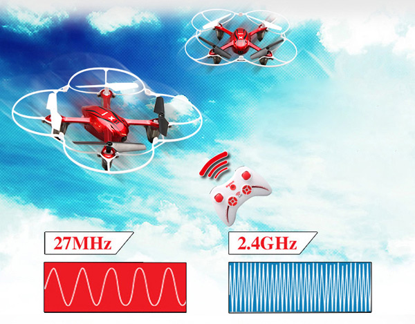 New Version SYMA X11 2.4G 4CH 6 Axis Gyro RC Quadcopter with Flash Lights