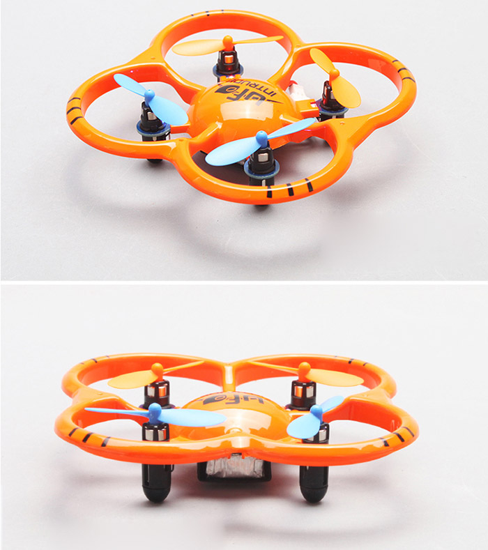 U207 Latest 6 Axis Gyro 2.4GHz 4 Channel Remote Control Quadcopter 360 Degree Eversion Mini Helicopter