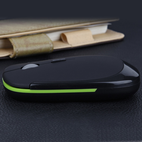 E10 Human Ergonomic 2.4GHz 1600DPI Wireless Optical Mouse Support Windows 7 XP 2000 Vista