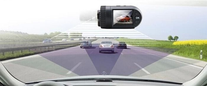 MINI 0805 1.5 inch TFT Screen GPS Car Camcorder with 1296P HD Resolution 120 Degree Wide Angle Lens Support 32GB SD Card