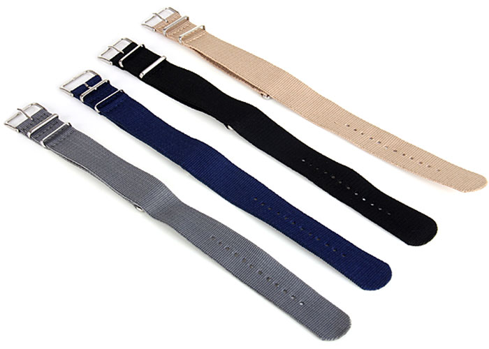24mm Fabric Canvas Band Strap for Watch
