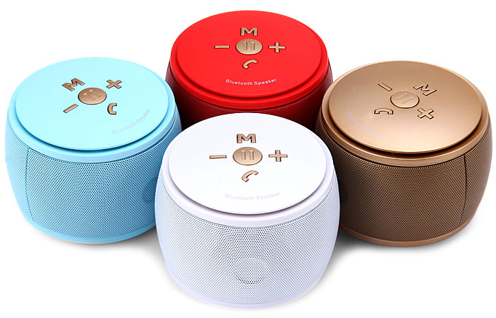F08 Pocket Bluetooth 3.0 Speaker Speakerphone with Hands-free Calls for Home Entertainment