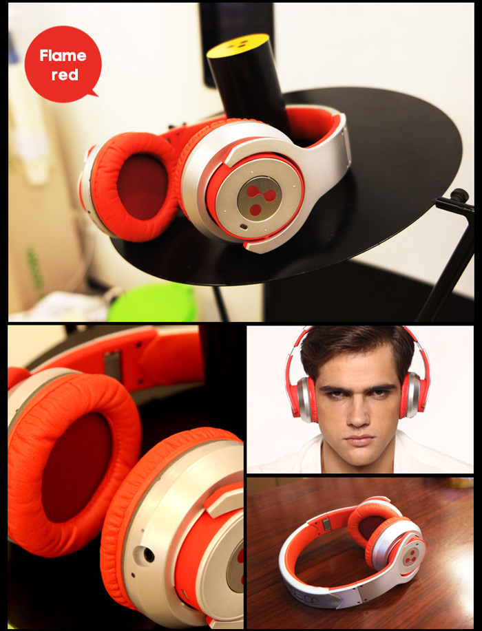 Syllable G800 Foldable Bluetooth V4.0 + EDR Headphone for Smartphone Tablet PC