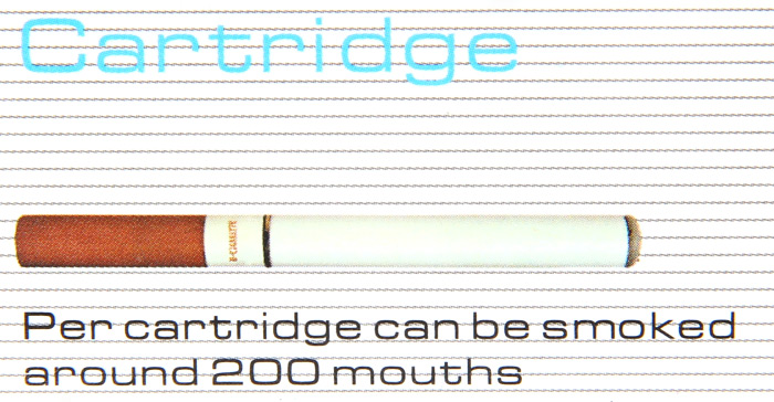50pcs Electronic Cigarette Cartridges Mouthpiece of Coffee Taste