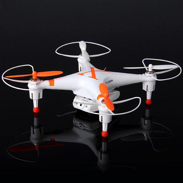 WiFi Cheerson CX - 30W 2.4G 6 - Axis RC Quadcopter with 0.3MP Camera Real Time Video Transmission Controlled by iPhone iPad