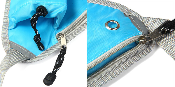 Triangle Style Multifunctional Waist Bag Pockets Shoulder Pack for Outdoor Sports Travelling Supplies