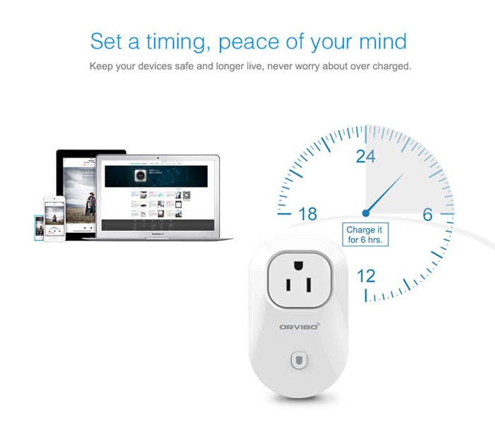 Orvibo wiwo-S20 Smart Wi-Fi AU Standard Socket Intelligent Home Control Automation for Andoid and iOS System