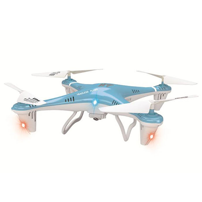 HT F801C 2.4GHz 4CH LED RC Quadcopter Flip Fly 6 Axis Gyro Headless Mode Copter with 1.0MP Camera