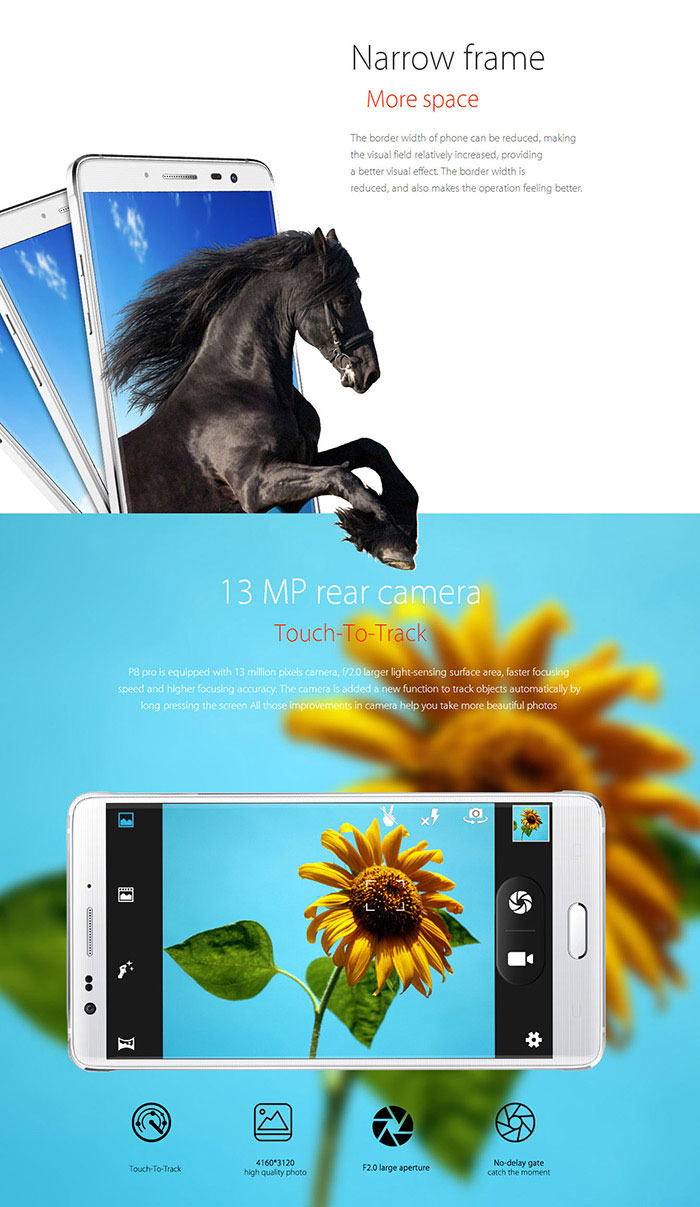 elephone p8 pro 5 7 inch android 4 4 3g phablet 188 88