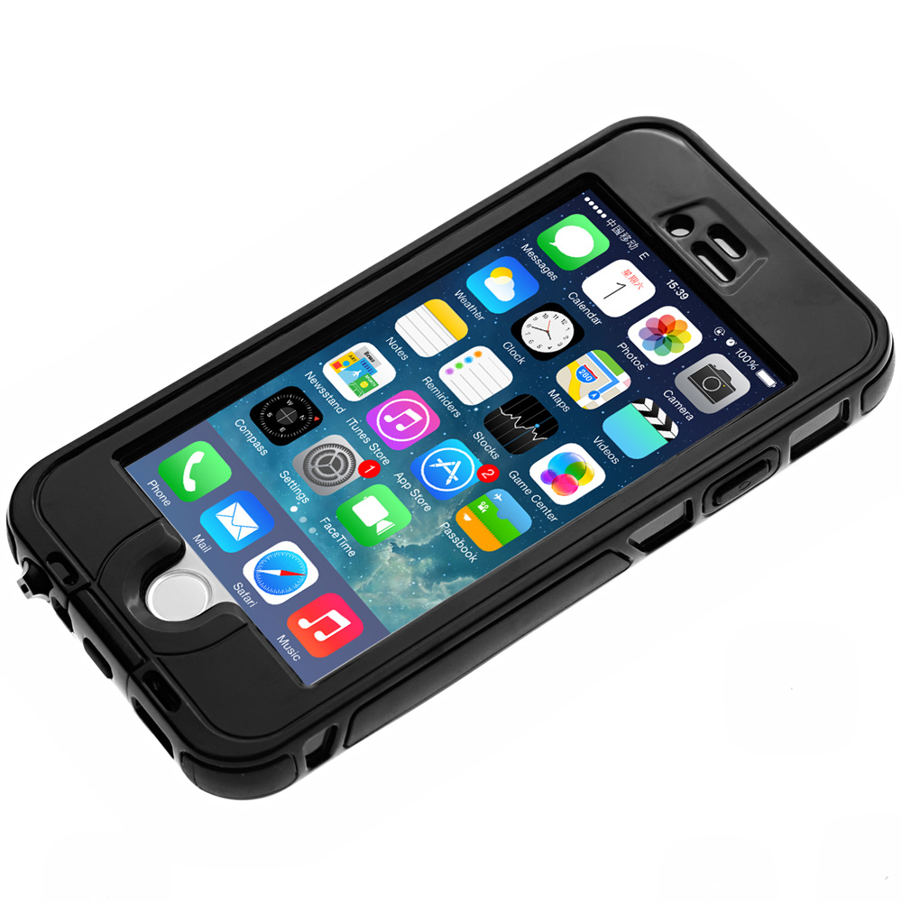 Link Dream Inclosed TPE and PC Material Waterproof Cover Case for iPhone 6 - 4.7 inches