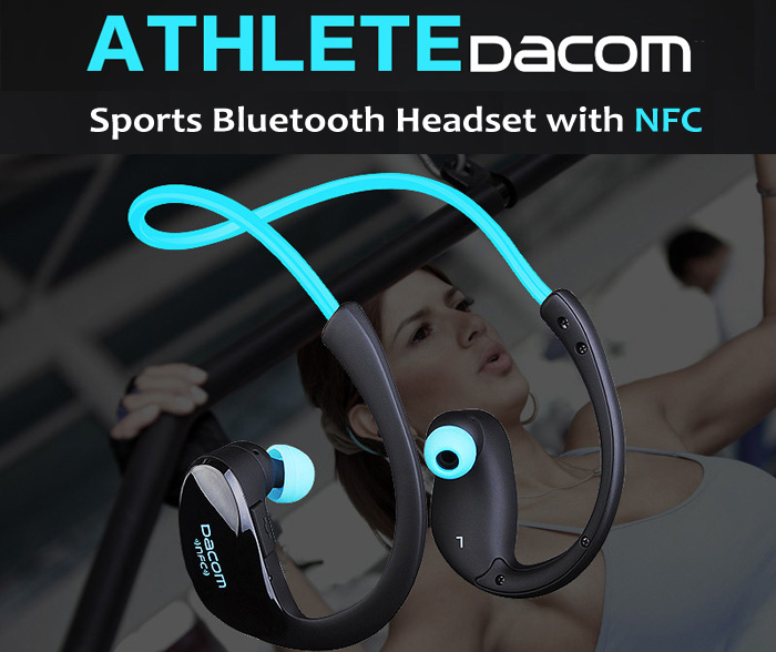 GearBest: Обзор Bluetooth гарнитуры DACOM Athlete