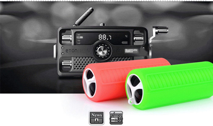 Pindo M200 Multi-function Bluetooth Bicycle Speaker Bike MP3 Music Player FM Radio with TF Slot 3.5mm Jack for Mobile Phone