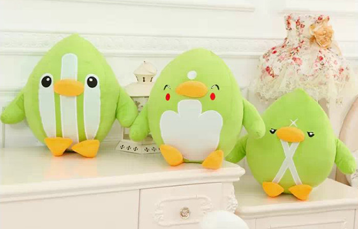 35cm Cartoon Figure Goose Plush Doll