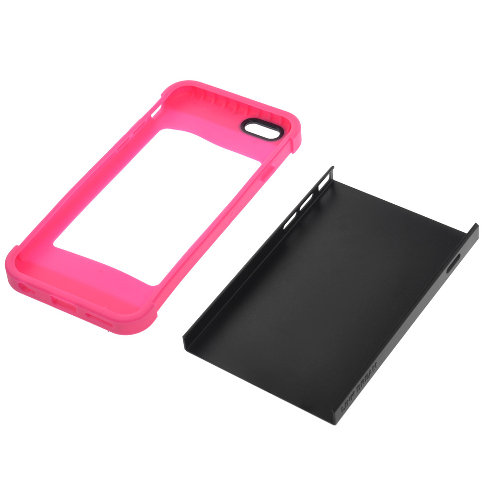 Link Dream PC and TPU Back Cover Case of Contrast Color Design for iPhone 6 - 4.7 inches