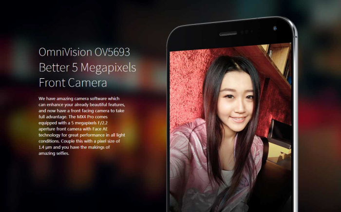 MEIZU MX4 Pro 32GB ROM 3GB RAM Android 4.4 4G LTE Smartphone 5.5 inch Phablet Exynos 5430 Octa Cores 2.0GHz 20.7MP Camera NFC HiFi fingerprint ID