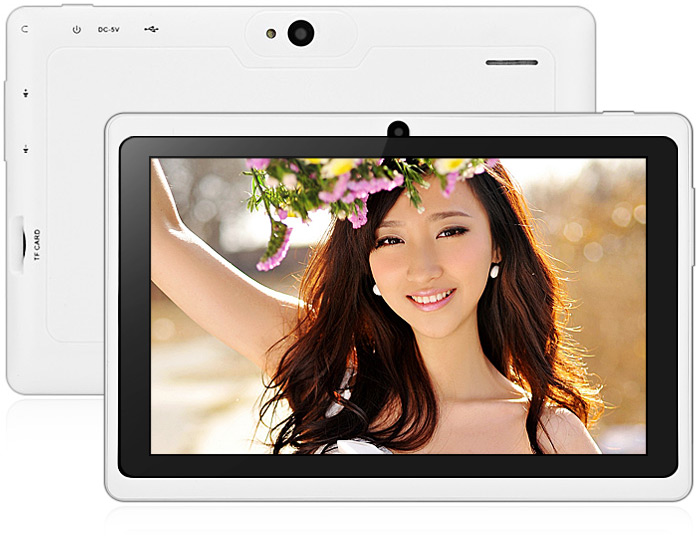 7.0 inch Q88 Android 4.4 Tablet PC WVGA Screen A33 Quad Core 1.2GHz 512MB RAM 8GB ROM WiFi