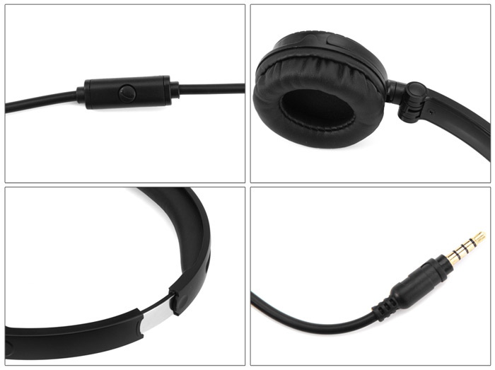 KEENION KDM - 903 Foldable Headphone with Microphone Answer Phone Function